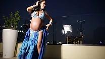 Pregnant Belly Dancer