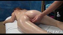 Nude angel massage