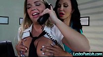 (jenna&jewels) Lesbo Girls Punish Each Other With Dildos movie-21
