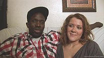 Interracial homemade couple shows their skills on camera
