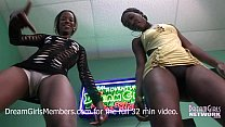 Sexy Naked Ass Twerking With Two Freaky Black Girls