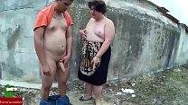 A esta pareja de gordos les gusta correrse en las paredes de los parques GUI009