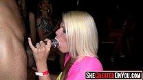 30 Horny sluts swallow cum at cfnm party15