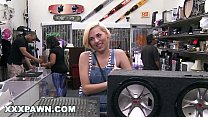 XXX PAWN - Stevie Sixx Tried To Pawn A Subwoofer. Instead She Sold Me Her Pussy.