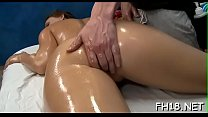 Pretty honey is bounding on dick getting unforgettable orgasm