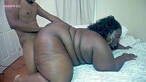big booty chocolate Chrissy Santana taking Big black cock on BBWHighway.com