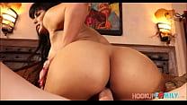 Sexy Juicy Ass Latina MILF Stepmom Seduces Stepson