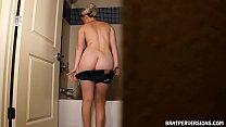 Voyeur Shower Cams: Blondes Caught