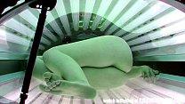 Hidden Camera in Public Tanning Bed