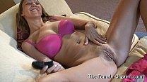 Big Naturals, Fleshy Pussy and Orgasm Contractions