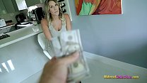 Step Mom Needs More Money to fuck So She Can buy New Tits - Nikki Brooks