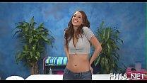 Astounding brunette Katie Jordan blows lovestick