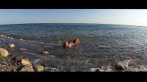 TRAVEL SHOW ASS DRIVER - Sasha Bikeeva in Russia. Black Sea, wild beaches