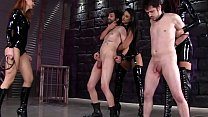 [BallbustingHD.com] BALLBUSTING PAIN PARTY by THREE mistresses! FEMDOM