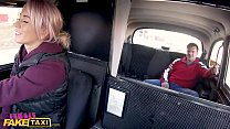 Female Fake Taxi Busty driver swaps fare for fuck
