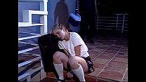 Runaway school girl Kitty Marie having sex
