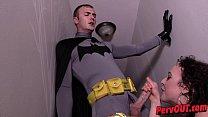 Demon Lilith Seduces Batman w Lilith Luxe   Christian Wilde SUPERHEROINE BLOWJOB