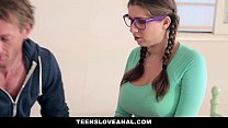 TeensLoveAnal - Step-Dad fucks daughter (Alex Chance) in the ass
