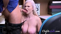 18yo Blonde Is Manipulated & Fucked By Old Correctional Officer-Emily Right7