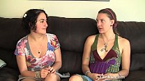Yanks Lesbians Sage And Simona talking