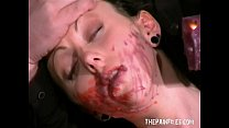 English Pornstars Bizarre Facial Hotwaxing and bdsm submission of Emily Sharpe