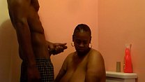 BBC Titty Fucking Ebony and cummin over big breasts Mic Riley