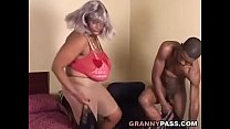 BBW Ebony Granny Fucks Big Black Cock