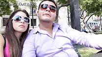 www.SEXMEX.xxx - Hot young latina school girl picked up in public and fucked Lily Queen