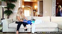Brazzers - Mommy Got Boobs - Meddling Mother-In-Law scene starring Amber Lynn and Bradley Remington