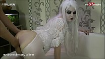 MyDirtyHobby - Naughty slutty babe creampied on halloween
