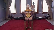 Master anal fucks newcomer and maid