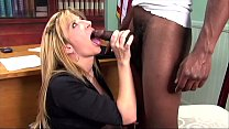 Babesalicious - Secretary get a black dick in the ass