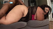 BBW Jasmine Banks Gets Down On Her Knees And Sucks A Cock Dry