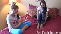 Ayanna worships her yoga instructors hot feet