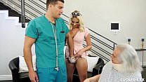 Athena's Cucked Husband Watches While She Gets Cock Therapy