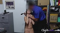Brunette Teen Forced To Fuck To Get Away With Stealing- Ava Eden