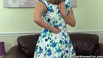 British milf Ila Jane reveals her hidden treasures