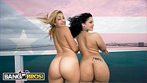 BANGBROS - Violet Vasquez and Kitana Flores's Fat Puerto Rican Asses