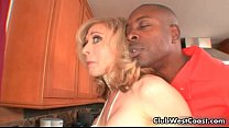 Horny blond houswife Nina Hartley gets