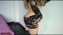 Sexy Teen Militar cogiendo Solo ANAL -