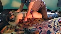 My cousin pray for an erotic massage and i give her the best massage of her life part 1