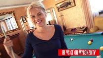 Boyfriend VS Girlfriend: Titus Steel & Jasmine Rouge Version Of Strip Poker Is A Pool Table Challenge