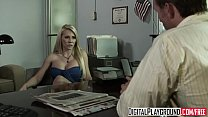 (Madison Ivy) gets fucked on her bosses desk for a lil extra cash - Digital Playground