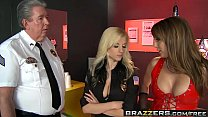 Brazzers - Hot And Mean -  Prostitute Trains Sexy Cop scene starring Charlie Laine and Haley Cumming
