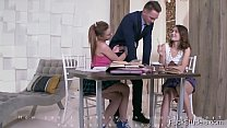 FuckStudies.com -  Shakila Asti & Sofy Torn - Well-hung tutor serves two student