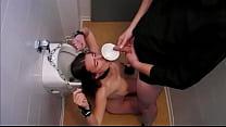 latina girl swallow piss