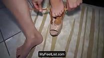 Cum On Feet And Shoes - MyFeetList.com