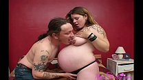 Hubby Pampers Her Wife Fucking Her Shaved Pussy