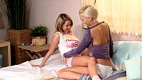 Sensual lesbian scene with Zoe and Carie by Sapphic Erotica