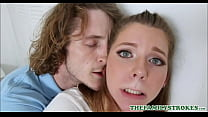 Young And Cute Teen Step Sister Seduces Older Step Brother